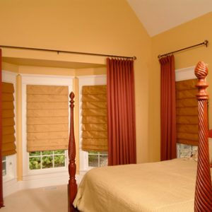 rèm vải phòng ngủ giá rẻ