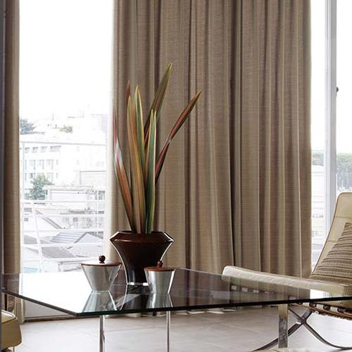 mẫu rèm vải phòng khách đẹp