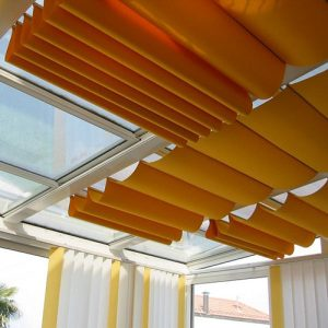 công trình rèm trần
