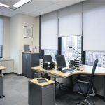Lắp đặt rèm cửa cho văn phòng yên tĩnh và hiệu quả công việc cao hơn