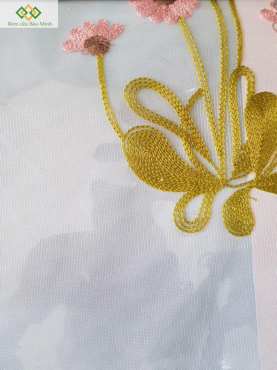 Rèm vải voan đẹp PD17