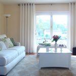 Rèm vải – sự lựa chọn thông minh cho phòng khách nhà bạn