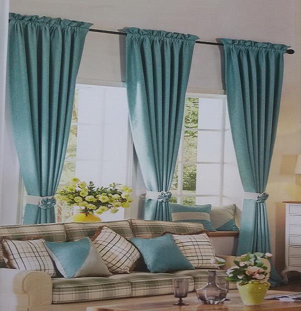 Kết quả hình ảnh cho cách chọn rèm cửa cho phòng khách