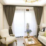 Mẫu Rèm Vải Chống Nắng 100% Cho phòng ngủ và phòng khách